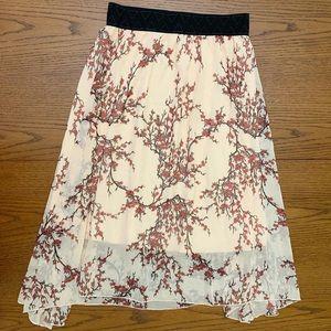 Lularoe Lola Cherry Blossom S